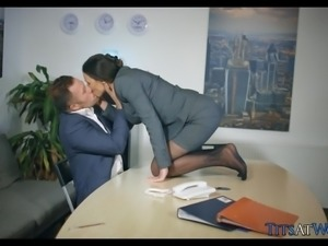 Getting Frisky at the Office