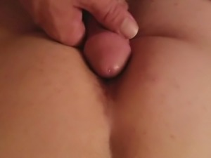 Cum on my ass