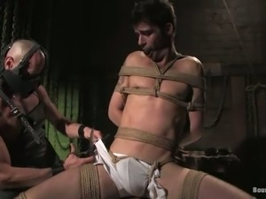 Kinky BDSM Gay Action with Bondage and Butt Fucking
