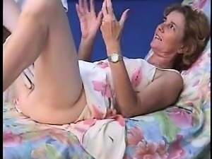 French mature Agnes doctor gyno