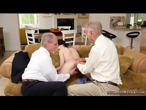 Old people sex She ends up ravaging both of our guys at the same time.