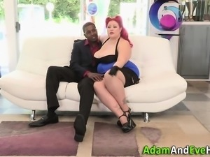 Fat babe spunked by bbc