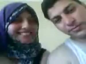 Egyptain Couple Kissing