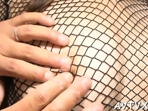 Pretty asian charms with wet oral pleasure and cock saddling