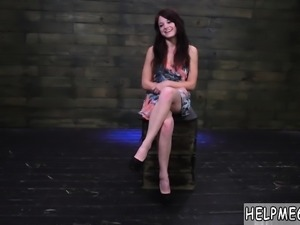 Tiny teen extreme squirt He trusses her wrists together with