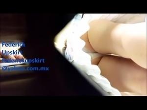 Double Upslirt Polanco - Federick Upskirt