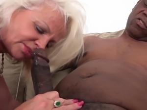 Mature anal sex pussy fucking interracial ass fuck cum