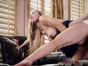 Foxy Babe Nicole Aniston Gets Impaled By Married Guy