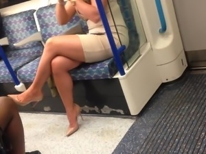 Candid Pawg - Thick Thighs & Sexy Long Legs (Tight Dress)