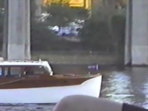2 strippers flash tits to passing boaters