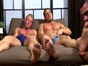 Boys humping feet and massive gay story Ricky Hypnotized To Worship