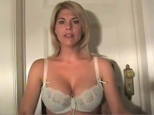 Hot and naughty blonde whore talks dirty stuff