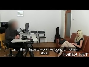 Porn casting bed hd