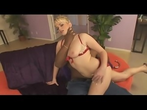 Short Haired Blonde Anal Punk MILF