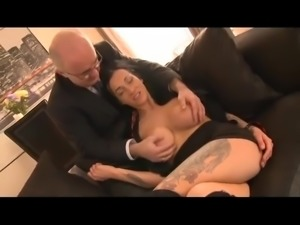 Chantelle Fox with Older Guy