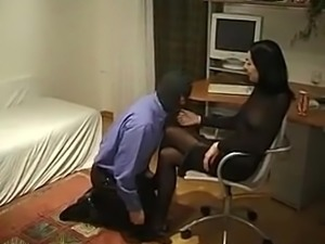 Sexy Guys & Hot  Brunette