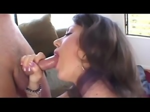 Petite brunette gets her ass rammed doggy style