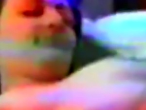 Dark haired Arab girlfriend banged from behind