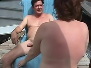 Swinger sex in the train
