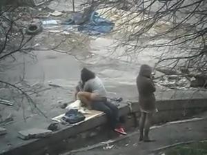 Public sex on the street
