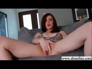 Amateur Alone Girl (sasha pain) Masturbates On Camera vid-21