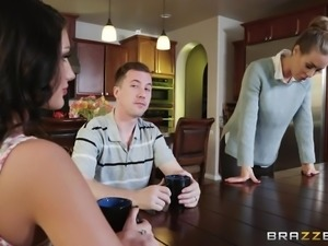 Sexy Nicole has had enough of her husband, and she wants to experiment with...