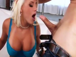 Horny Blonde Big Tit Wife