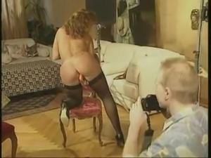 Retro porn photosession