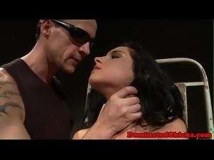 Tormented and disciplined euro fucked by dom