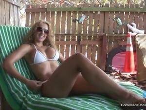 Assy big tit posing for camera