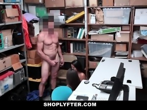 Shoplyfter-  Teen Bffs Fucked By Dirty Cop For Freedom