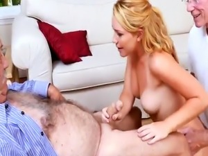 Old white guys gangbang ebony and fat black girl One by one we ended r