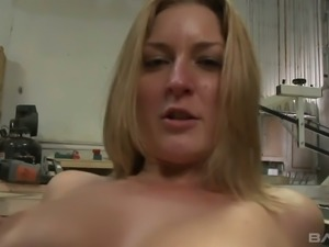 Avy Scott is a curvy workwoman and she is ready for some hardcore action