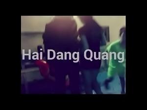 Hot Teen 4 sluts peeing Hai Dang Quang in bedroom Chau Huyen Chi