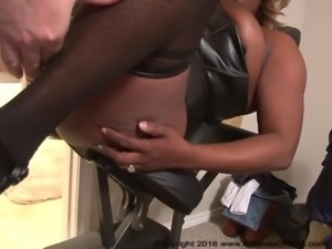 Anal Ebony BBW Housewife Abuse