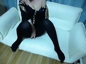 Teen Amateur Brunette Cam Masturbation