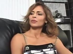 AMWF Latina Monique Fuentes interracial with Asian guy