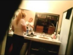 Big Ass of my sister 19 on spy camera