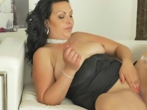 horny milf getting fucked on the couch
