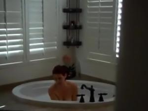 stepmother seduced in bathroom