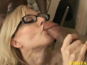 Slut Nina Hartley gets shared by Rico Strong and Ethan Hunt