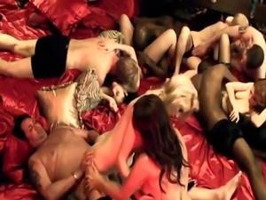 PlayboyTV shows young and horny couples fucking in epic orgies