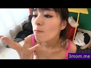 Mature Asian Super Ass MILF doulble sucking xxxJapan HD