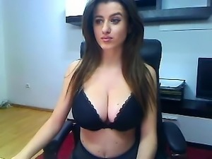 Bikini babe with big boobs J Love picked up