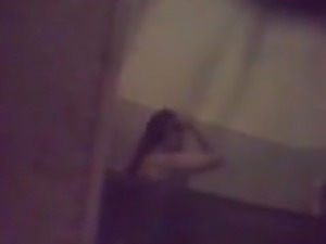 Girl in bath, hidden cam