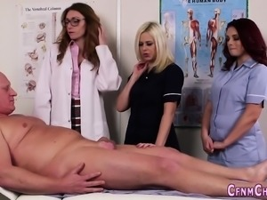 British nurses give head