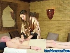 masseuse babe fingered
