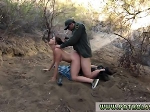 Big tit blonde cop xxx Mexican border patrol agent has his o