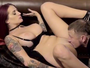 rocker chick needs it bad @ seduced by the boss' wife #09