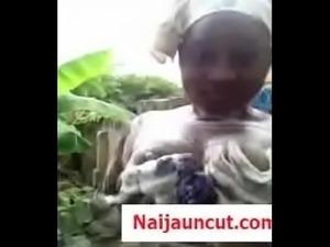 Busola Naija Girl Bathing Video Busted Online